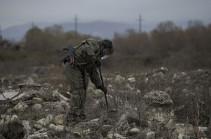 Российские миротворцы разминировали 156 гектаров в Карабахе
