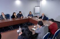 Вазген Манукян встретился с редакторами новостных сайтов