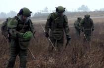 Продолжается очистка от взрывоопасных предметов территории Нагорного Карабаха