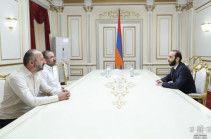 Armenia's NA speaker meets representatives of Citizen's Decision party