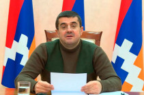 Artsakh president edits his address, says will leave politics after snap elections in Artsakh
