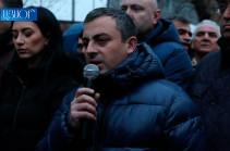 22 декабря станет решающим днем нашей борьбы – Ишхан Сагателян