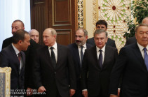 Armenia's PM will not participate at CIS leaders' session today due to father's demise