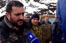 Вице-мэр: В некоторых местах граница Азербайджана проходит в несколько метрах от общины Горис, в некоторых местах – прямо по общине