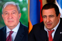 Armenia's President meets with leader of Prosperous Armenia party