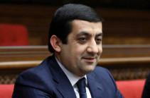 Депутат парламента Армении из Сюника Тигран Карапетян отказался от мандата