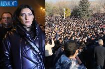 Сегодня в «Ераблуре» была констатирована кончина государства – Арпине Ованнисян