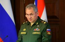 Шойгу: миротворцы не допустили в Карабахе ни одного серьезного инцидента