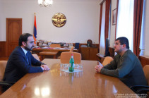 Artsakh president, Armenia's Vice PM discuss issues on restoration of Artsakh