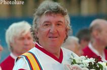 Скончался легендарный советский футболист Аркадий Андреасян