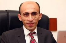 Artak Beglaryan appointed head of Artsakh President's staff