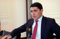 Former NSS director Argishti Kyaramyan appointed deputy head of IC