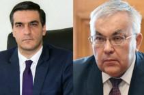 Состоялась встреча замглавы МИД России с Омбудсменом Армении