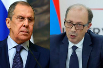 Armenian, Russian FMs discuss on phone situation in Karabakh