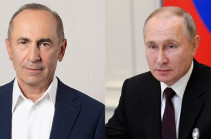 Armenia's second president, Russia's president hold a phone conversation