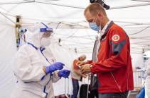 В России общее число инфицированных Covid-19 превысило 3 млн