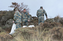 1,111 bodies of killed servicemen found in Artsakh from November 13 to December 27