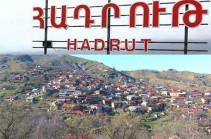 Azerbaijani side does not allow search group enter Hadrut