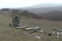 Инженерные подразделения российских миротворческих сил в Нагорном Карабахе продолжают работы по разминированию местности