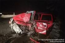 Վթար՝ Ոսկետափ-Վեդի ճանապարհին. վարորդները մահացել են