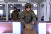 Очередной блочно-модульный городок для российских миротворцев возвели специалисты МТО в Нагорном Карабахе