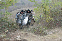 Body of civilian found during search works in Karin Tak sector