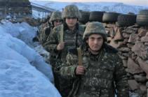 4-րդ զորամիավորման զորամասերից մեկում իրականացվել է մարտական հերթապահության հերթափոխ