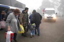 175 беженцев вернулись в Нагорный Карабах за сутки