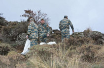 Bodies of 7 servicemen and one civilian found during search works in Karabakh