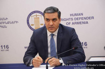 Armenia's Ombudsman slams government's policy not to publish the number of Armenian captives kept in Azerbaijan