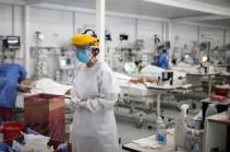 WHO reports surge in coronavirus deaths last week