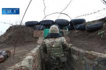 ՀՀ պետական սահմանի հայ-ադրբեջանական շփման գծի ամբողջ երկայնքով կայուն օպերատիվ իրավիճակը պահպանվել է. ՊՆ