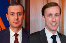 Armenia attaches great importance to the role of the USA as a Co-Chair of the OSCE Minsk Group in final resolution of Nagorno-Karabakh status – Armenia's SCS to Jake Sullivan
