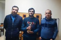 Նշան Ալավերդյանը նվաճել է ռուսական շաշկու Հայաստանի գավաթը