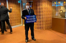 PACE session kicks off with protest action of the Armenian side
