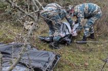 Найдены тела еще четырех армянских военнослужащих