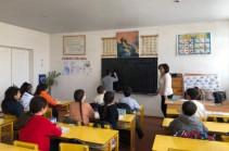 Շուշիի միջնակարգ դպրոցը գործում է Ստեփանակերտում