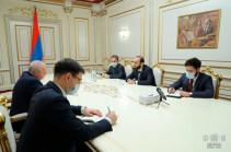 ԱԺ նախագահը ՌԴ դեսպանի հետ հանդիպմանը վստահություն է հայտնել, որ ռուս գործընկերները հայ ռազմագերիների վերադարձի ուղղությամբ կշարունակեն միջնորդական ջանքեր գործադրել