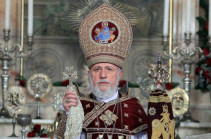 This year we celebrate the Armed Forces Day with the pain of the tragic consequences of the war in our souls: Armenia's Catholicos