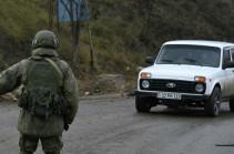 Российские миротворцы круглосуточно обеспечивают безопасность движения автотранспорта через Лачинский коридор