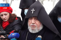 Our position remains unchanged – Armenia's Catholicos on PM's resignation