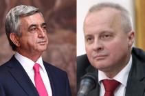 Armenia's third president, Russian ambassador meet, discuss situation in Karabakh