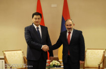 Armenia's PM Pashinyan meets with Kyrgyz counterpart in Almaty