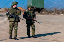 Российские и турецкие военнослужащие совместно осуществляют мониторинг обстановки в Нагорном Карабахе