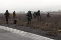 Ռուս սակրավորները շարունակում են ականազերծել Լեռնային Ղարաբաղի տարածքը