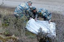 Rescuers find bodies of 4 servicemen in Fizuli region