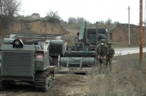 Russian peacekeepers continue work on demining territory in Karabakh