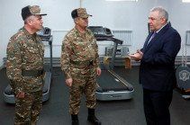 Armenia transforms army passing to new system of armament and military equipment - DM