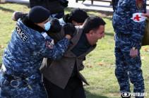В Ереване полиция задержала более 50 человек