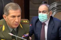 Премьер Армении освободил с должности начальника Главного штаба ВС Армении